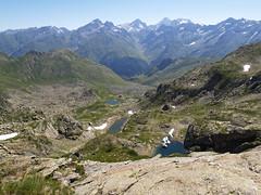 Widok z Pic Peyreget na wschód