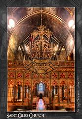 St. Giles' Church, Cheadle (setsuyostar) Tags: churches churchinteriors sigma8mmfisheye kenhawley augustuspugin dynamicphotohdr canoneos5dii stgileschurchcheadle winter2016 february2016