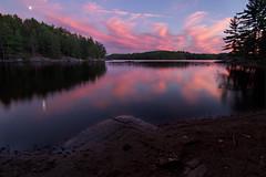 Wishing You All A 'Silent' Night (SavingMemories) Tags: camping sunset sky cloud lake ontario canada water provincialpark bancroft kawarthas silentlake silentlakeprovincialpark savingmemories suemoffett