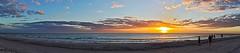 Full Width Sunset (Deepgreen2009) Tags: ocean sunset sea sky panorama west beach gulfofmexico water landscape evening florida wide shore