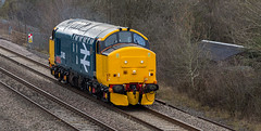 Heavily cropped pic of freshly painted 37402 at Tupton on 29-02-2016 on a move from Derby to York (kevaruka) Tags: uk greatbritain winter england color colour colors train canon outdoors flickr colours unitedkingdom outdoor derbyshire transport trains gb 5d february frontpage britishrail chesterfield dbs syphon freighttrain 2016 freightliner drs ews networkrail class37 37402 gbrf tupton dbschenker canon5dmk3 5dmk3 canonef100400f4556l 5d3 5diii thephotographyblog canoneos5dmk3 tuptonbridge dbreilfreight ilobsterit