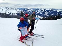 Chacun cherche son chemin (Jauss) Tags: ski alps alpes sterreich neige jules alpen tyrol autriche gaspard kitzbhel