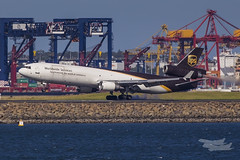 N254UP UPS MD11F 34L YSSY-8386 (A u s s i e P o m m) Tags: australia ups newsouthwales brightonlesands md11f