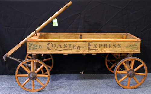 Wooden Express Wagon - $412.50 (Sold October 2, 2015)