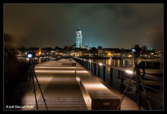 Workshop Avondfotografie Deventer (Hans van Bockel) Tags: city longexposure photoshop pier nikon raw nef tripod thenetherlands le workshop avond stad deventer ijssel architectuur lebuinus locatie groep worp nld binnenstad avondfotografie statief gedik aanlegsteiger 1680mm haitsma d7200 digidiaal