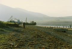 Carsethorn, July 1991 (alljengi) Tags: coast 1991 solway criffel dumfriesandgalloway solwaycoast carsethorn