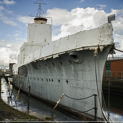 HMS Caroline (dareangel_2000) Tags: uk ireland navy belfast northernireland naval magicmoments jutland royalnavy 2016 coantrim hmscaroline titanicquarter oldstories alexandradock battleofjutland wowiekazowie dariacasement nmrn