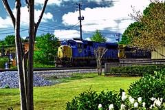 CSXT 4798, Southbound at Kennesaw, Georgia (BDM17) Tags: train ga georgia james big andrews general diesel great engine chase depot shanty locomotive raid kennesaw csx emd csxt sd70mac