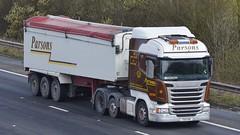 T55 PAR (panmanstan) Tags: truck wagon motorway m18 yorkshire transport lorry commercial vehicle scania bulk langham r480