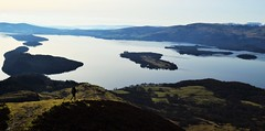 conic hill above loch lomond (laurajones916) Tags: scotland walks hiking loch lomond lochlomond conichill