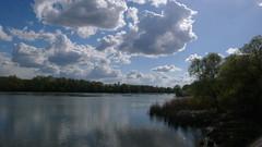 Oissel - Bords de Seine (jeanlouisallix) Tags: panorama france nature seine landscape soleil eau rivire maritime normandie printemps paysages haute fleuve oissel