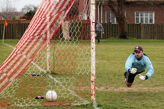 Goal!! (richard evea) Tags: west colour sport canon sussex football goal soccer missed watersfield yapton