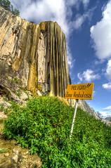 Hierve el Agua - Petrified Waterfall
