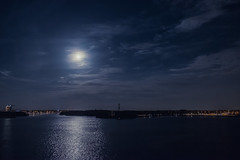 Time X (maksym.moskvychev) Tags: blue moon lake mystery night danger dark quiet fullmoon