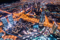 At the top - Burj khalifa 2 (knaki63) Tags: dubai d750 burjkhalifa samyang14mmf28