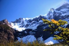 Valle Del Francés (Priscila de Cássia) Tags: trip travel blue camping patagonia snow mountains nature argentina rock trekking landscape nikon flare losglaciares losglaciaresnationalpark nikond90