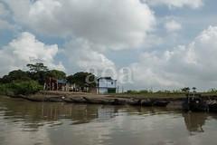 H504_3110 (bandashing) Tags: trees england sky water forest river manchester boat flood monsoon swamp land riverbank sylhet bangladesh socialdocumentary ghat aoa bandashing ratargul akhtarowaisahmed goyainnodi