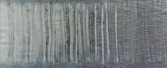 Gradations (jonnydredge) Tags: stripes eco blueberries shibori markmaking spottedhyenas