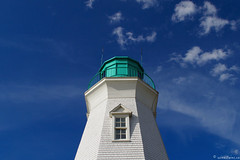 Port Dalhousie Lighthouse (winestains) Tags: lighthouse ontario clouds port waterfront bluesky niagara stcatharines dalhousie portdalhousie
