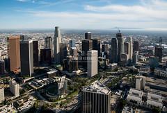 Downtown LA Skyline (HunterKerhart.com) Tags: architecture la losangeles downtownla dtla wilshiregrand downtownlaskyline hunterkerhart wilshiregrandtower