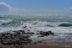 Strong waves - Porthleven (Nina_Ali) Tags: porthleven cornwall sea waves beach seaside nikond5500 ninaali