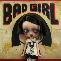 The bad, bad girl. (Pink Anemone) Tags: pink witch vampire fake anemone blythe tbl malice cackling