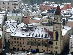 2016-031581S (bubbahop) Tags: snow germany cityhall hike rathaus passau 2016 vesteoberhaus europetrip33