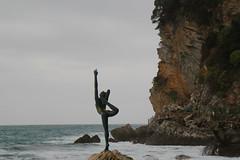 Budva (Ne_Obliviscaris) Tags: ballet statue dancer montenegro budva