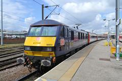 90034 (R~P~M) Tags: uk greatbritain england electric train unitedkingdom norfolk railway norwich locomotive 90 abelliogreateranglia dbcargouk