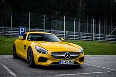 Mercedes AMG GT (MSC_Photography) Tags: yellow 35mm mercedes benz austria sterreich nikon bokeh gelb gt nikkor afs amg pol gts trackday salzburgring blackfox zk trackdays solarbeam d5100 118g zktrackdays