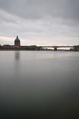 Toulouse Pont Saint-Pierre (choubidounette) Tags: toulouse pont saintpierre france haute garonne pose longue long exposure nikon d800 paysage sophie subotkiewiez