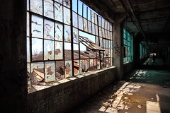 Fischer Body Plant-1879a (RichKD) Tags: street old people urban plant car architecture body decay detroit ruin photographers gritty creepy abandon forgotten factor fischer