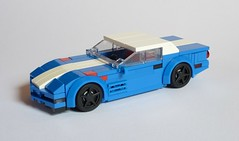 1996 Corvette C4 Grand Sport (MOCs & Stuff) Tags: city chevrolet sport speed town lego 1996 grand corvette champions alternate c4
