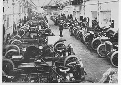 Production of cars 1914 -  Daimler  Tradition 1972 (AndyBrii) Tags: 1912 coventry 1972 daimler