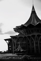 My Favorite Photo Sarawak Kuching Borneo Building Traditional Blackandwhite Photography The Week Of Eyeem Shadows And Backlighting Up Close Street Photography EyeEm Best Shots Fresh On Eyeem  Travel Photography Black And White Check This Out Blackandwhite (Craig Ansibin) Tags: blackandwhite building architecture hall exterior view traditional structure sarawak borneo kuching blackandwhitephotography travelphotography checkthisout myfavoritephoto upclosestreetphotography eyeembestshots shadowsandbacklighting theweekofeyeem freshoneyeem