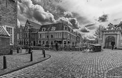 Groenhazengracht_Leiden (Rens Timmermans) Tags: blackwhite niksilverefexpro sigma1224f4556dg canon5dmk3