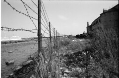 Tallin prison (benoitgouel) Tags: contrast canon baltic prison jail states lowkey fp4 tallin blanckandwhite fp4plus ftql