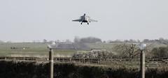 Rafale (hanley27) Tags: fighter aircraft jet landing l f4 rafale canon70200mm rafleeming dassaultrafale exercisegriffinstrike
