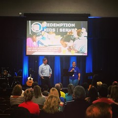 One of our Redemption KIDS volunteers shared this morning about our kids ministry. Our elementary and preschool classes were at capacity this morning, and we are in need of more volunteers to help in classrooms. Email serve@redemptionokc.com if you would (rcokc) Tags: morning our kids one this you ministry volunteers like email we more help volunteering need if were about preschool teachers volunteer would information elementary shared redemption classrooms classes helpers capacity serveteam redemptionkids serveredemptionokccom