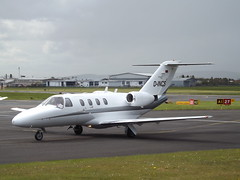 D-INCS Cessna Citation CJ1 (Aircaft @ Gloucestershire Airport By James) Tags: james airport gloucestershire cessna lloyds citation bizjet cj1 egbj dincs