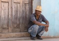 Cuban Way of Life (Chris Willis 10) Tags: people sitting cuba steps doorway cuban