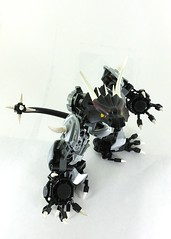 Draco, Lord of Dragons (TheRoyalBrick) Tags: dragon lego bionicle moc constraction foitsop