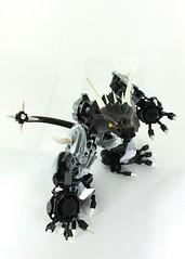 Draco, Lord of Dragons (TheRoyalBrick) Tags: dragon lego bionicle moc constraction foitsop