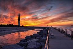 Barnegat Lighthouse at Sunset (erhewitt50) Tags: sunset newjersey nj oceancounty barnegatlighthouse barnegatlight