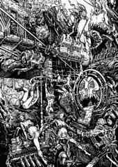 MAD MAX FURY DRAW -  Zaex Starzax (Sugarpulp) Tags: comics tribute fumetti madmax illustrazione sugarcon sugarpulp sugarpulpconvention