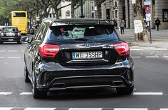 Poland (Warsaw-Mokotow) - Mercedes-Benz A 45 AMG (PrincepsLS) Tags: berlin germany mercedes benz poland plate polish 45 we license warsaw spotting amg mokotow a