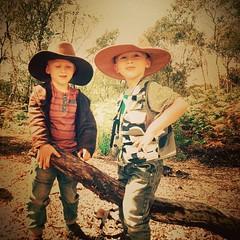 Real Men #indianajones #adventure #boys #twins... (nathanrobinson2) Tags: nature boys fun poser twins brothers exploring hats adventure explore dresses moor indianajones rambling crowle crowlemoors uploaded:by=flickstagram instagram:photo=792945950089020123184137303 instagram:venuename=crowlemoors instagram:venue=377380664