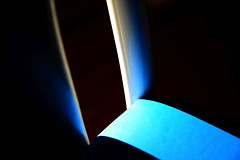 Chair study 1 (Grandpaparazzi) Tags: blue sun white kitchen contrast chair pattern straight curve oblique highlight
