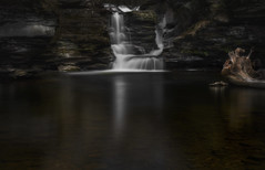 Secret Forest Falls (John Maslow) Tags: statepark fall waterfall spring pennsylvania falls rickettsglen johnmaslowski johnmaslowskiphotographyllc secretforestfalls