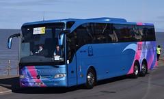 BJ15AWH  Edwards, Pontypridd (highlandreiver) Tags: bus mercedes benz coach rally lancashire edwards blackpool coaches pontypridd awh tourismo bj15 bj15awh